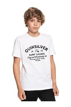 tričko Quiksilver Closed Captions - WBB0/White