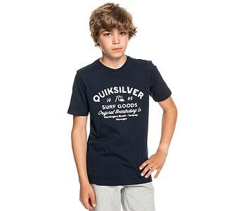 tričko Quiksilver Closed Captions - BYJ0/Navy Blazer