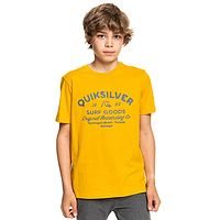 T-Shirt Quiksilver Closed Captions - YMA0/Nugget Gold - boy´s
