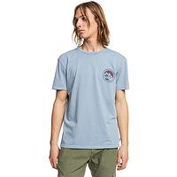T-Shirt Quiksilver Mountain View - BKF0/Citadel Blue - men´s