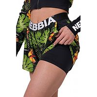 shorts NEBBIA High Energy Double Layer/563 - Jungle Green - women´s