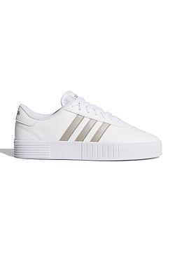 boty adidas Performance Court Bold - White/Silver Mettalic/White
