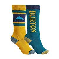skarpetki Burton Weekend Midweight 2 Pack - Celestial Blue/Cadmium Yellow
