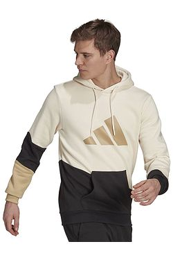 sweatshirt adidas Performance Sportswear Colorblock Hooded - Wonder White - men´s