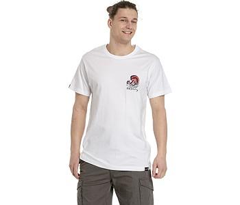 tričko Meatfly Kroko - White