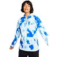 Sweatshirt Burton Crown Weatherproof Pullover - Cobalt Abstract Dye - women´s