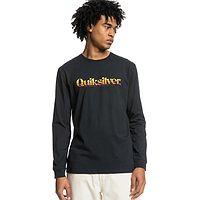 T-shirt Quiksilver Primary Colours LS - KVJ0/Black - men´s