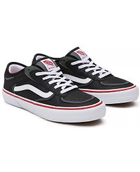 boty Vans Rowley - Black/White/Red