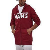 Sweatshirt Vans Classic II Zip - Pomegranate - men´s