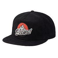 kšiltovka Burton Retro Mountain Snapback - True Black