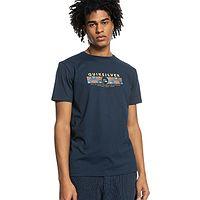 camiseta Quiksilver Wrap It Up - BYJ0/Navy Blazer - men´s