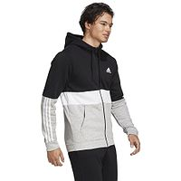 Sweatshirt adidas Performance Essentials Hoodie Zip - Black/White - men´s