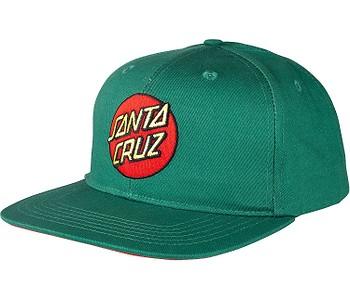 kšiltovka Santa Cruz Classic Dot Snapback - Evergreen
