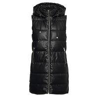 gilet ONLY Dia Faux Leather Waistcoat CS Otw - Black - women´s