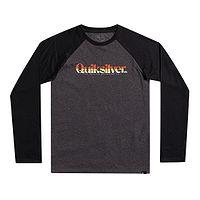 T-shirt Quiksilver Primary Colours LS - KTAH/Charcoal Heather - boy´s