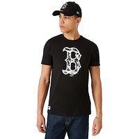 T-Shirt New Era Camo Infill MLB Boston Red Sox - Black - men´s