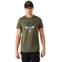 tričko New Era Outdoor Utility Team Logo NBA Chicago Bulls - New Olive