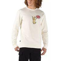 sweatshirt Vans Versa Standard Crew - Tyson Peterson/Antique White - men´s