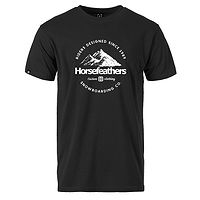 T-Shirt Horsefeathers Hilly - Black - men´s
