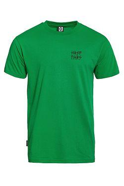 tričko Horsefeathers Handwritten Atrip - Fern Green