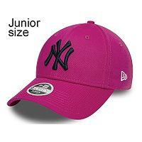 dziecięca czapka z daszkiem New Era 9FO Chyt League Ess. MLB New York Yankees Youth - Beetroot Purple
