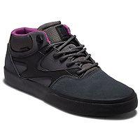 shoes DC Kalis Vulc Mid WNT - DGB/Dark Grey/Black