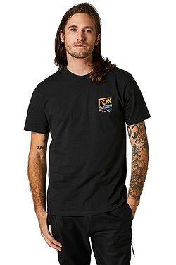 tričko Fox Pushin Dirt Premium - Black
