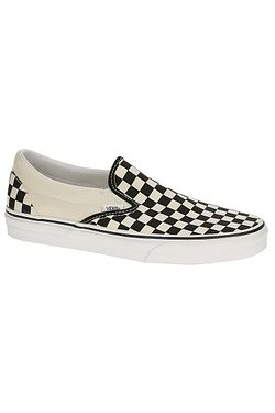shoes Vans Classic Slip-On - Black & White Checkerboard/White