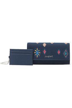 peněženka Desigual 21WAYA07/July Tribu Mariona - 5014/Azul Europa