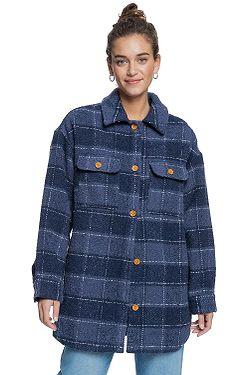 kabát Roxy Make It Happen - BSP2/Mood Indigo Plaid Party