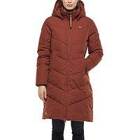 coat Ragwear Rebelka - 6001/Terracotta - women´s