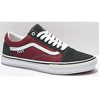 Schuhe Vans Skate Old Skool - Asphalt/Pomegranate - men´s