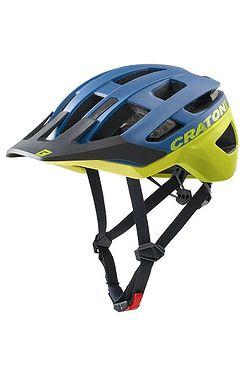 helma Cratoni AllRace - Blue/Neon Yellow Matt