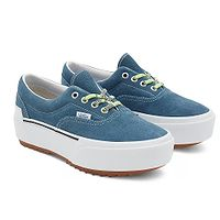 topánky Vans Era Stacked - Multi Lace/Cement Black/True White