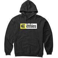mikina Etnies New Box Pullover - Black/Yellow/White