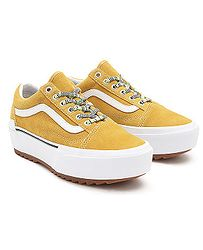 boty Vans Old Skool Stacked - Multi Lace/Golden Yellow/True White