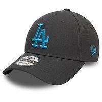 boné de basquete New Era 9FO Repreve Pop Logo MLB Los Angeles Dodgers - Graphite/Azure Blue - men´s