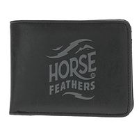 carteira Horsefeathers Hackney - Black - men´s
