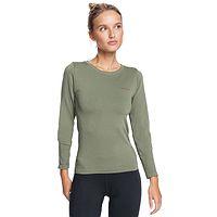 T-shirt Roxy Proud Of Being LS - TPC0/Deep Lichen Green