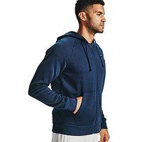 Sweatshirt Under Armour Rival Fleece Zip - 408/Academy/Onyx White - men´s