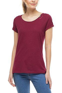 tričko Ragwear Florah B Organic - 4055/Wine Red