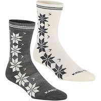 chaussettes Kari Traa Vinst Wool 2 Pack - Dus - women´s