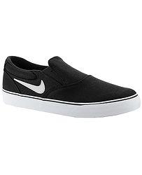 boty Nike SB Chron 2 Slip - Black/White/Black/Black