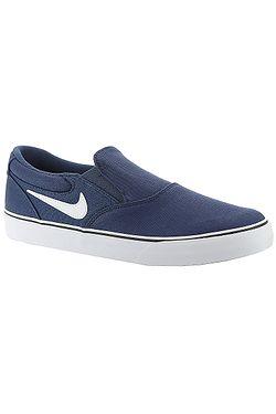 boty Nike SB Chron 2 Slip - Navy/White/Navy/Black