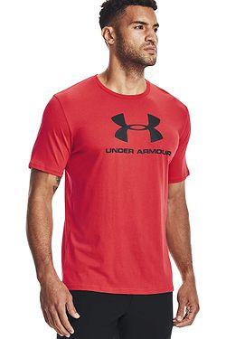 tričko Under Armour Sportstyle Logo - 601/Red/Black