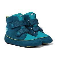 zapatos Affenzahn Comfy Jump Midboot Vegan Shark - Maroccan Blue - boy´s
