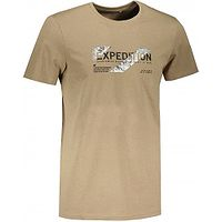 T-Shirt 4F H4Z21-TSM025 - 82S/Light Brown - men´s
