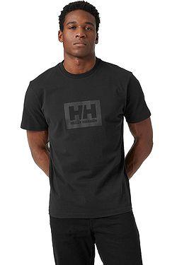 T-Shirt Helly Hansen HH Box - Black - men´s