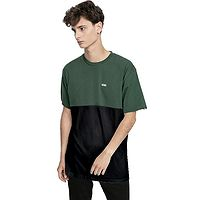 camisa Vans Colorblock - Black/Sycamore - men´s