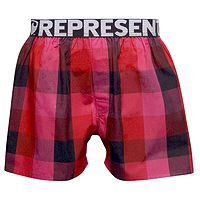 trenky Represent Classic Mike - 21264/Red/Pink/Black
